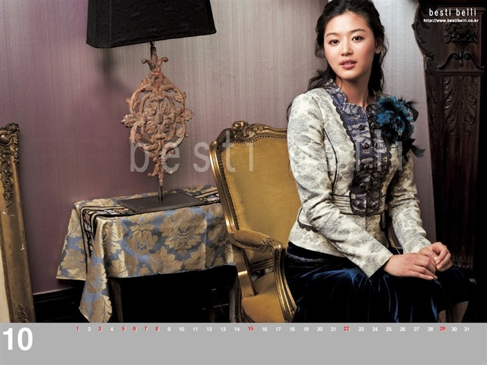 Jun Ji-hyun endorsement Korean clothing brand besti belli wallpaper 31 Views:1140