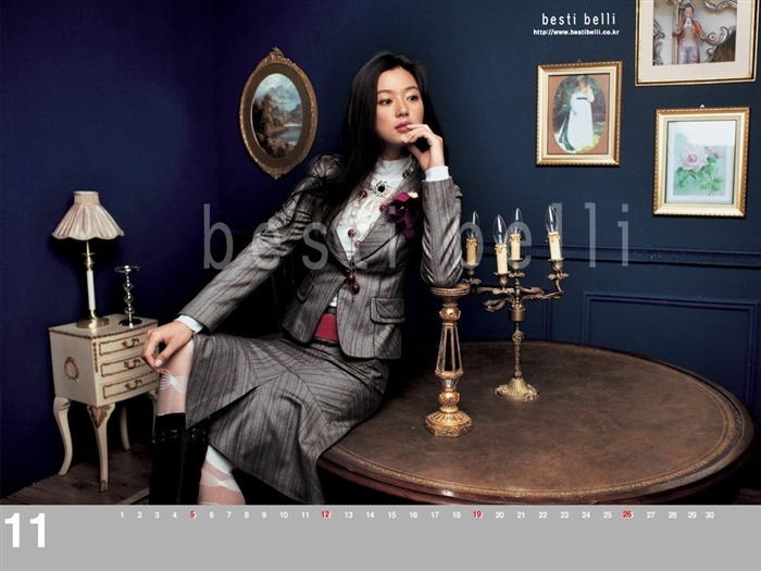 Jun Ji-hyun endorsement Korean clothing brand besti belli wallpaper 32 Views:1416