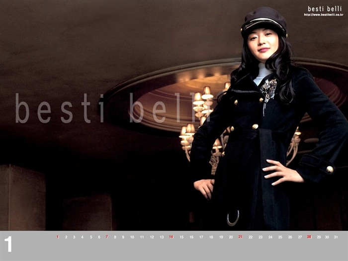 Jun Ji-hyun endorsement Korean clothing brand besti belli wallpaper 34 Views:1128