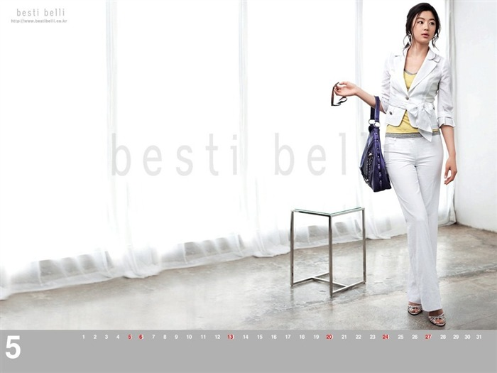 Jun Ji-hyun endorsement Korean clothing brand besti belli wallpaper 38 Views:1312