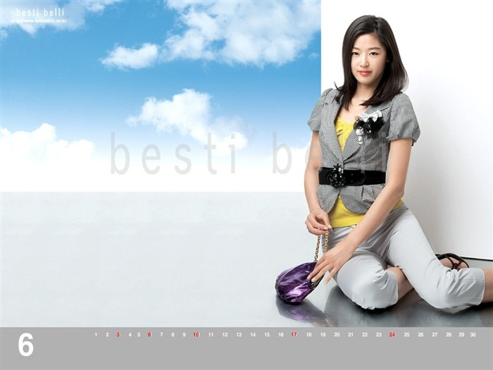 Jun Ji-hyun endorsement Korean clothing brand besti belli wallpaper 39 Views:1295