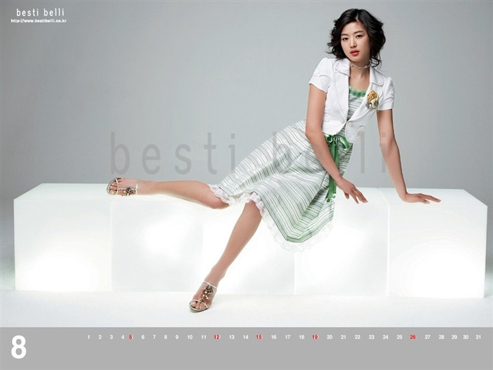 Jun Ji-hyun endorsement Korean clothing brand besti belli wallpaper 41 Views:5874