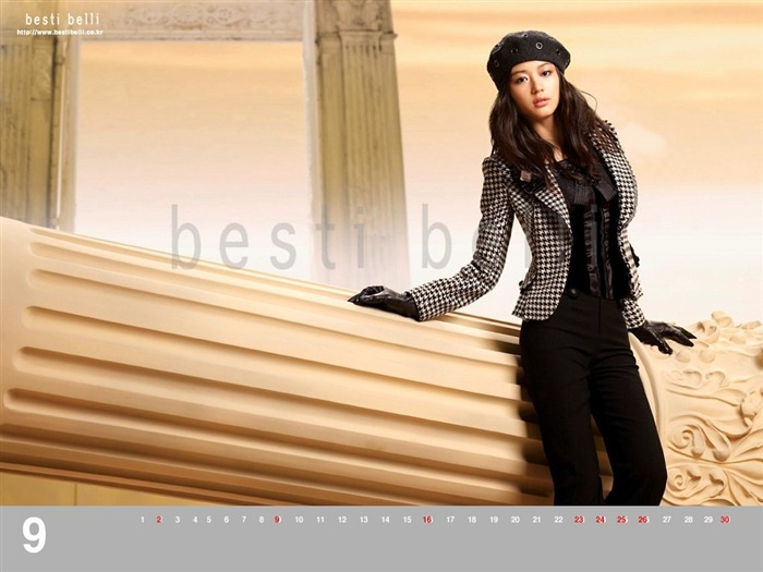 Jun Ji-hyun endorsement Korean clothing brand besti belli wallpaper 42 Views:1403