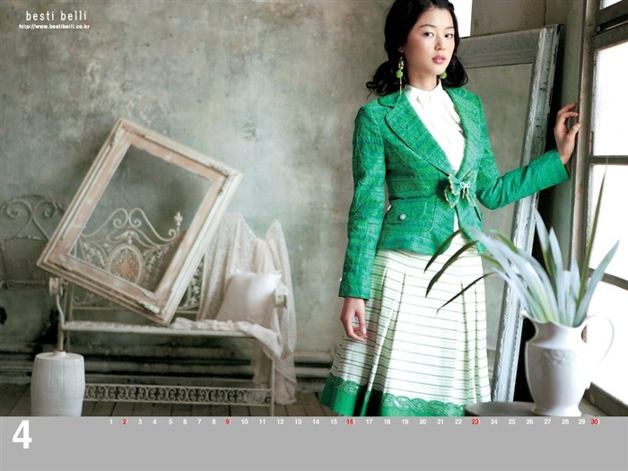 Jun Ji-hyun endorsement Korean clothing brand besti belli wallpaper 43 Views:1091