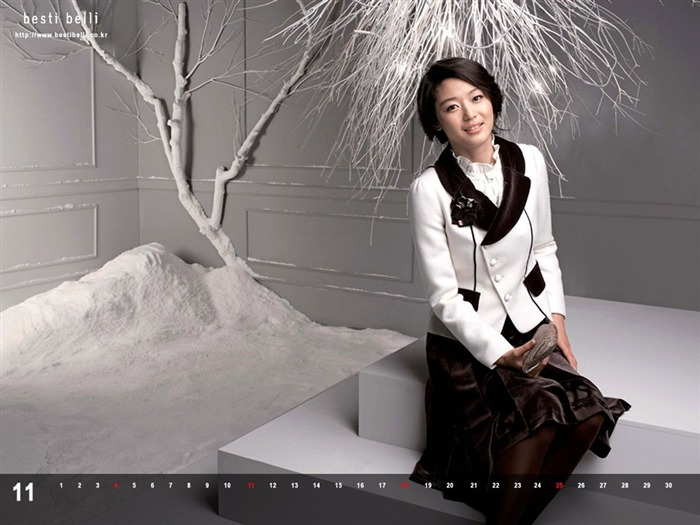 Jun Ji-hyun endorsement Korean clothing brand besti belli wallpaper 44 Views:1033