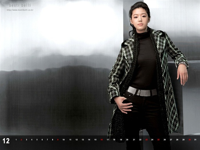 Jun Ji-hyun endorsement Korean clothing brand besti belli wallpaper 45 Views:1339