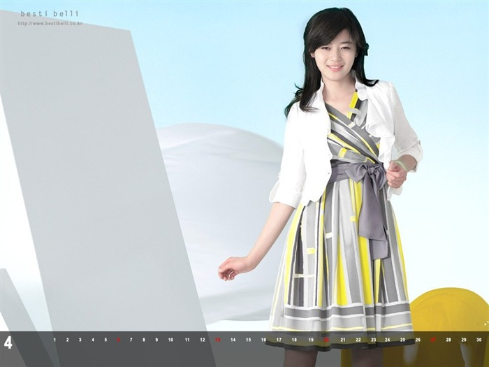 Jun Ji-hyun endorsement Korean clothing brand besti belli wallpaper 48 Views:1335