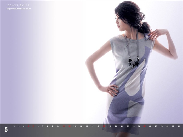 Jun Ji-hyun endorsement Korean clothing brand besti belli wallpaper 49 Views:1525