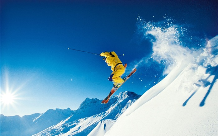 Winter Fun and in the Alps - Alps Ski Vacation Wallpapers Views:18638