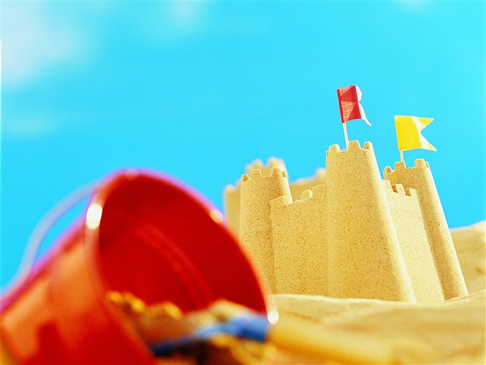 Sand Castle - Summer Still Life Photography logo 01 Views:8474