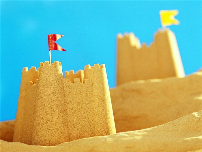 Sand Castle - Summer Still Life Photography logo Views:4825