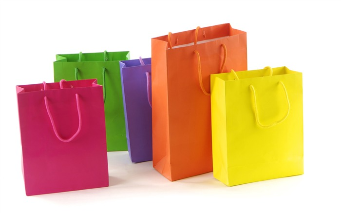 Shopping bags in different colours Views:5878