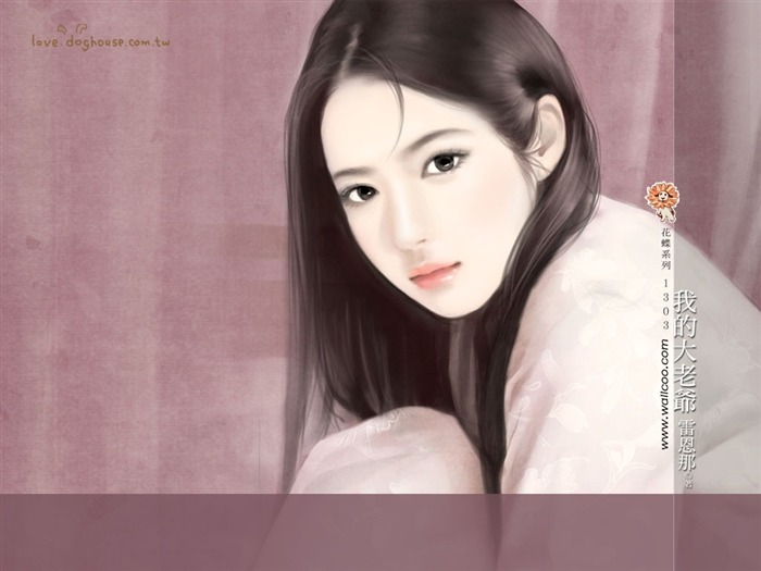 Title:Sweet Charming Faces Sweet Girls Paintings Wallpaper2 Views:2916