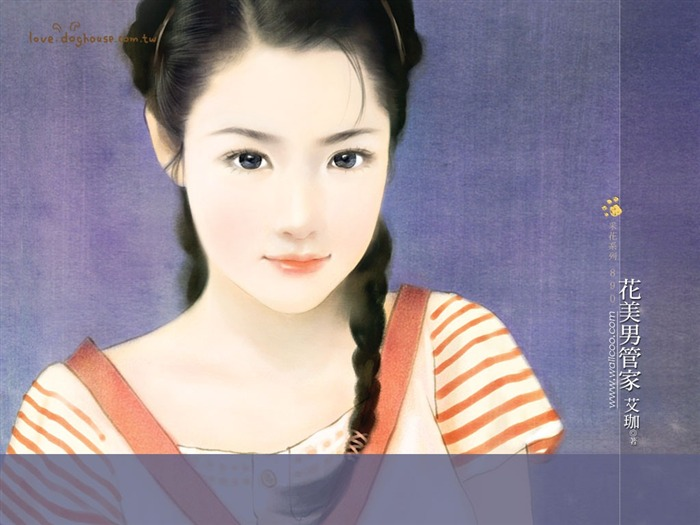Title:Sweet Charming Faces Sweet Girls Paintings of Romance Novel Covers 10 Views:6470