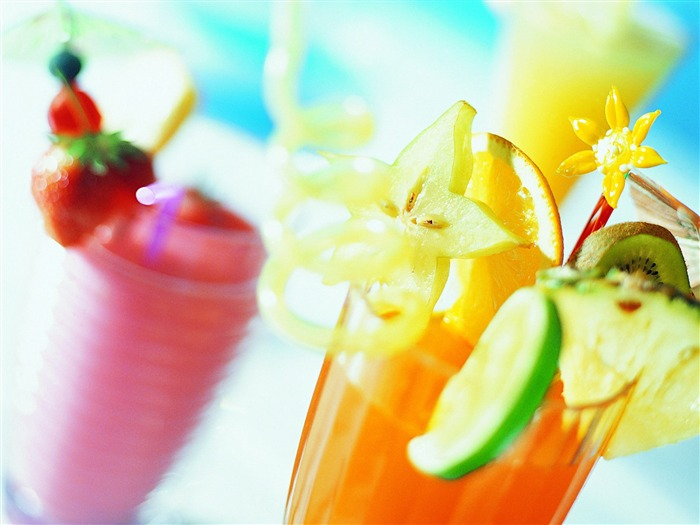 Tropical fruit drink - Summer Still Life Photography logo 02 Views:6226