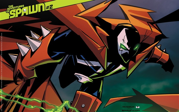 Adventures of Spawn 2 Cover Wallpaper Views:6453
