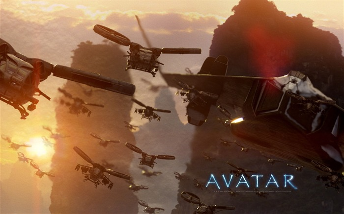 America Science Fiction Classic Movie - Avatar HD Wallpaper 03 Views:7343