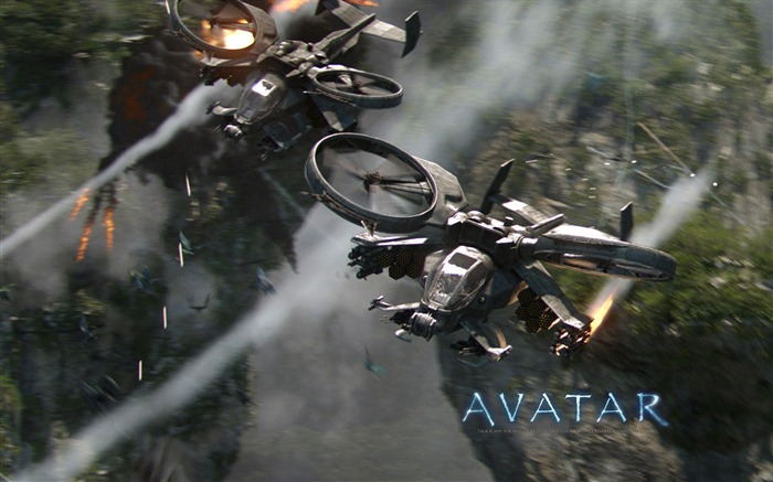 America Science Fiction Classic Movie - Avatar HD Wallpaper 04 Views:8710