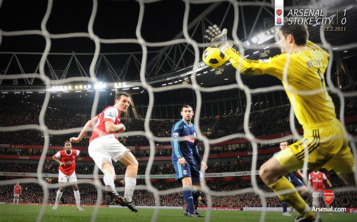 Arsenal 1-0 Stoke City Wallpaper Views:7997