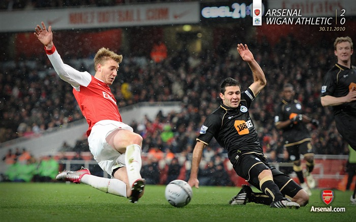 Arsenal 2-0 Wigan Athletic Wallpapers Views:6254