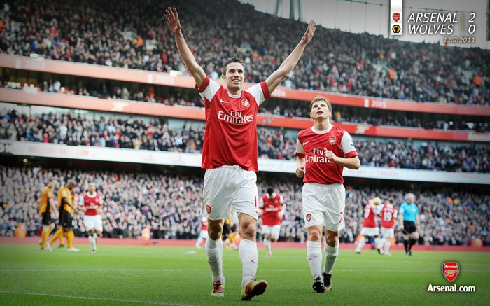 Arsenal 2-0 Wolverhampton Wanderers wallpaper Views:6120