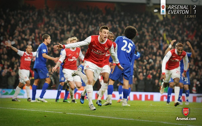 Arsenal 2-1 Everton Wallpaper Views:7826