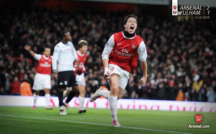 Arsenal 2-1 Fulham Wallpaper Views:6930