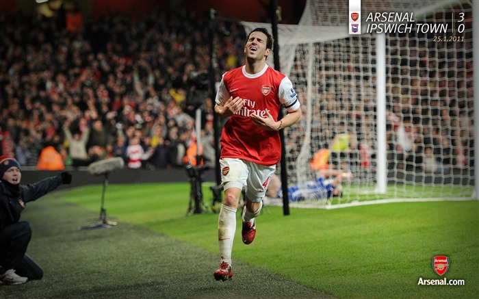 Arsenal 3-0 Ipswich Town wallpaper Views:6573