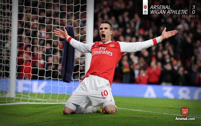 Arsenal 3-0 Wigan Athletic Wallpapers Views:6958