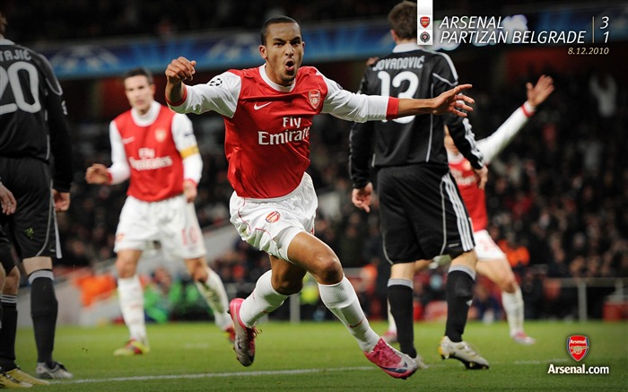 Arsenal 3-1 Partizan Belgrade wallpaper Views:6950