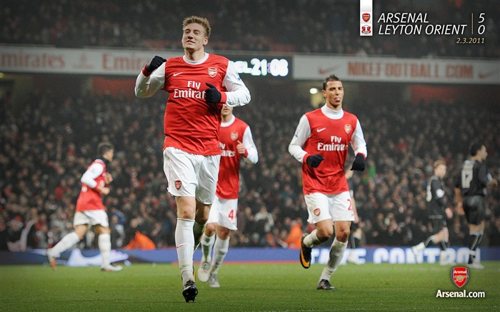 Arsenal 5-0 Leyton Orient Wallpaper Views:5480