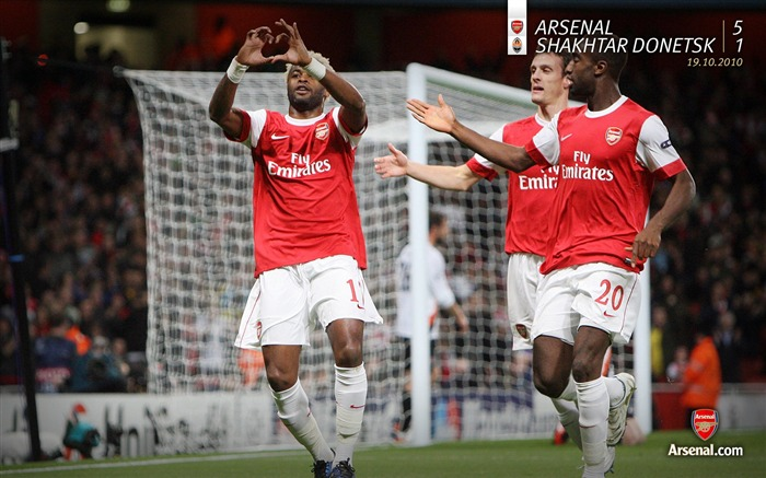 Arsenal 5-1 Shakhtar Donetsk Wallpapers Views:5144
