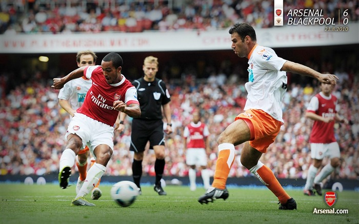 Arsenal 6-0 Blackpool wallpaper Views:4998