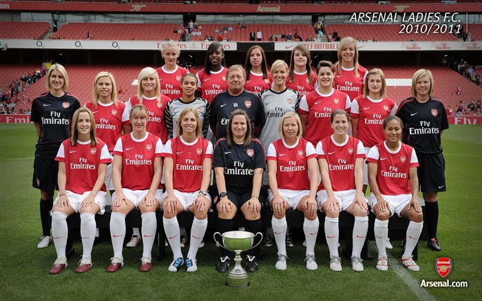 Arsenal Ladies Squad 2010-2011 wallpaper Views:9826