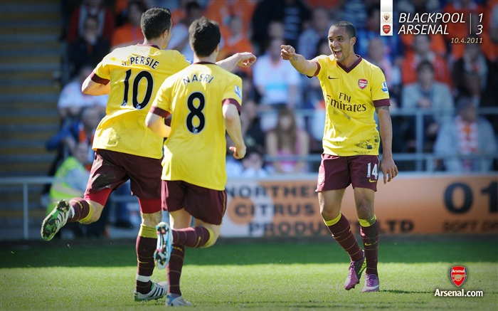 Blackpool 1-3 Arsenal Wallpaper Views:4820