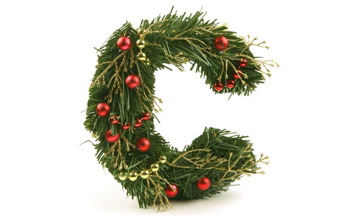 C shaped Christmas Wreath- Christmas ornament Views:13439