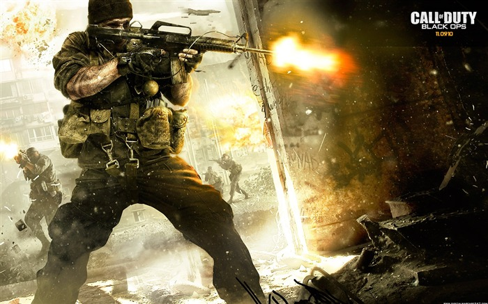 Call of Duty 7 Black Ops HD Games Wallpapers-Three Series Views:11921