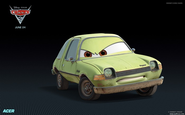 Cars2 HD Movie Wallpapers 01 Views:8742