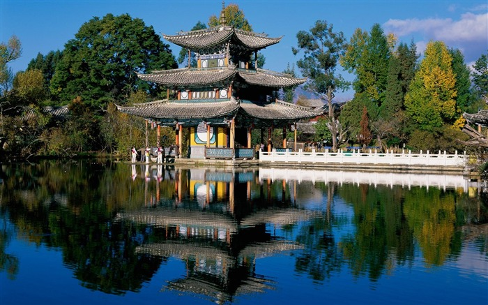 Chinese classical kiosk-the worlds nature photography Views:7101