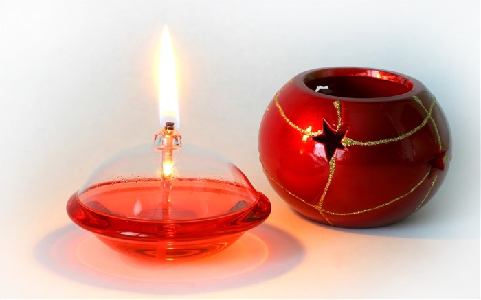 Christmas Candle Picture - Christmas Lit Candel Views:9795