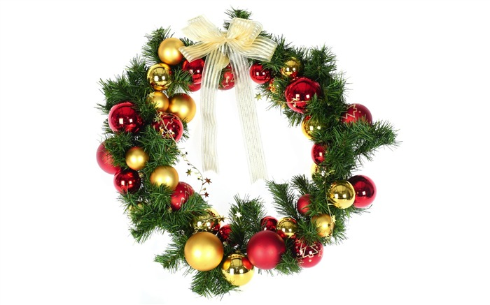 Christmas Wreath with baubles Picture Views:20733