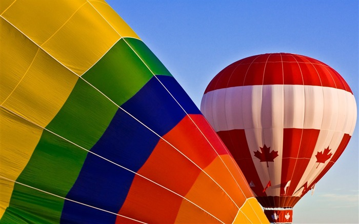 Colorful hot air balloons during inflation 01 Views:3755