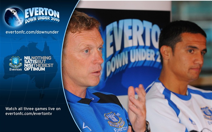 David Moyes and Tim Cahill meet the Australian media wallpaper Views:5487