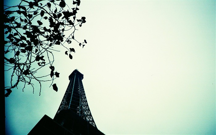 Eiffel Tower in LOMO Beautiful Lomo Snapshots Views:8024