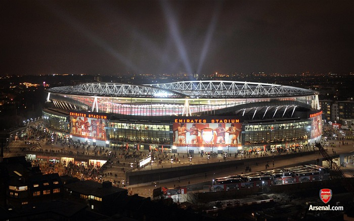 Emirates Stadium light show wallpaper Views:28373