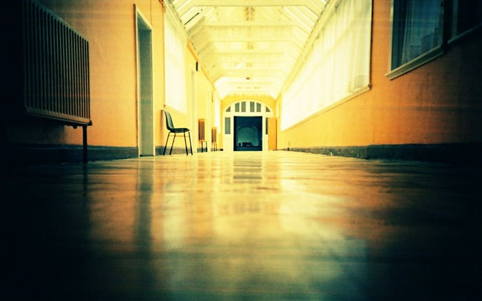 Empty Entrance Hall Amazing Lomo Lomography Views:10267