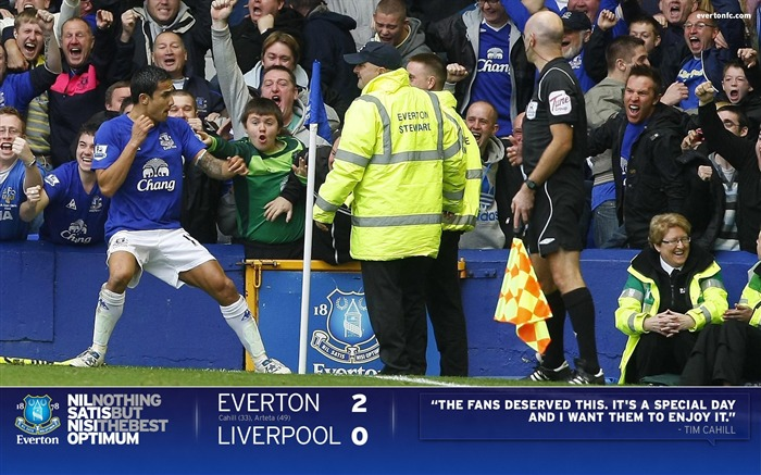 Everton 2-0 Liverpool-Cahill Wallpaper 01 Views:6052