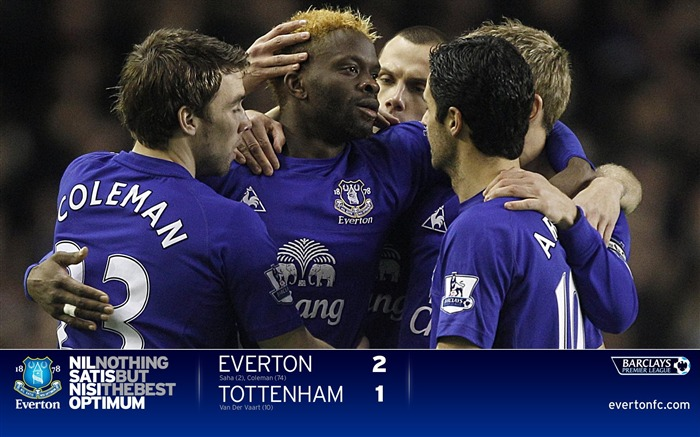 Everton 2-1 Spurs-Saha wallpaper 01 Views:4897