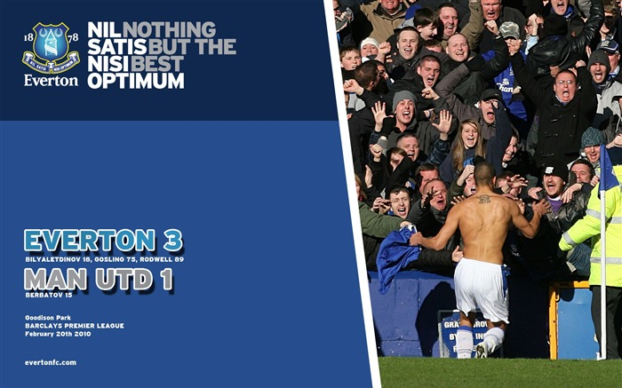Everton 3-1 Man Utd Wallpaper Views:6451