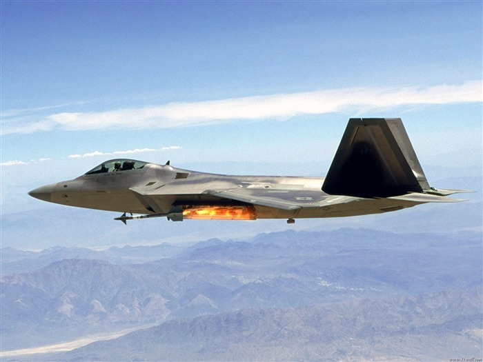 F-22 Raptor fighter wallpaper Views:14860